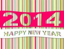 Happy new year 2014. Background Stock Photo