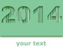 Happy new year 2014. Background Royalty Free Stock Photo