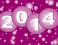 Happy new year 2014. Background Royalty Free Stock Images