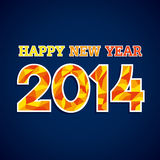 Happy new year 2014. Background Stock Photo