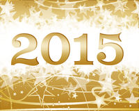 Happy new year 2015. Background Royalty Free Stock Photos