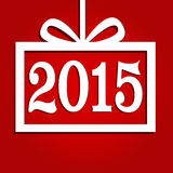 Happy new year 2015. Background Royalty Free Stock Images
