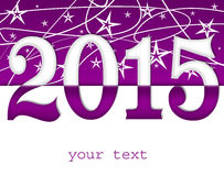 Happy new year 2015. Background Stock Photos