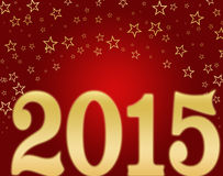 Happy new year 2015. On a background Stock Photos