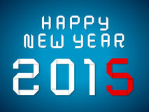 Happy new year 2015. 2015 happy new year background Royalty Free Stock Photography