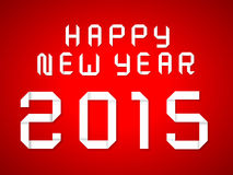 Happy new year 2015. 2015 happy new year background Royalty Free Stock Photo