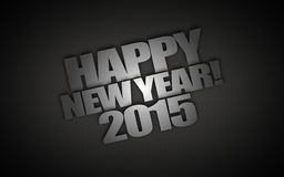 Happy New Year 2015. Background vector illustration
