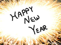 Happy New Year Background. Happy New Year written for background purpose Royalty Free Stock Images