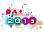 Happy new year 2015 Royalty Free Stock Photos