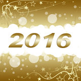 Happy new year 2016. Happy new year on a  background Stock Photos
