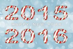 Happy new year 2016. Background Stock Photos