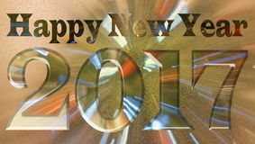 Happy New Year 2017. New Year Background Stock Image
