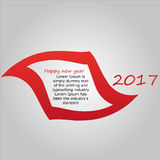 Happy new year 2017 background. Happy new year 2017 abstract background Stock Photography