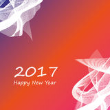 2017 happy new year background. Abstract happy new year 2017 background Stock Photos