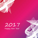 Happy new year 2017 background. Abstract happy new year 2017 background Royalty Free Stock Photo