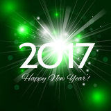 2017 Happy New Year background Royalty Free Stock Images