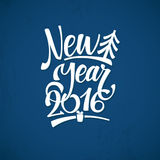 Happy New Year Background. Beautiful elegant text design of happy new year Royalty Free Stock Photography