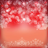 Happy New Year Background. With bubble and snows Stock Image