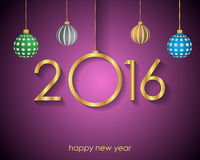 2016 Happy New Year  Background Royalty Free Stock Photos