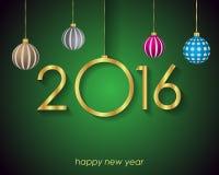 2016 Happy New Year  Background Stock Photos