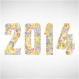 Happy new year 2014  background Stock Photo