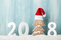 Happy New Year background. Copy space Royalty Free Stock Photos