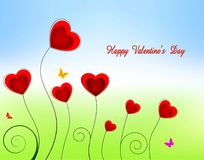 Valenjines background decoration Royalty Free Stock Photography