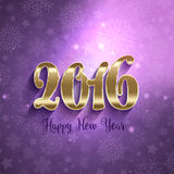 Happy New Year background. Decorative Happy New Year background Stock Photography