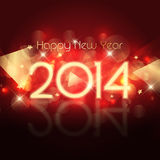 Happy New year background. Decorative Happy New Year background with a starry design Stock Photos