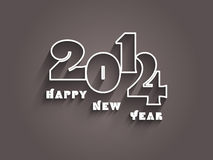 Happy New year background. Decorative text background for the New Year Royalty Free Stock Photo
