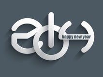Happy New year background. Decorative text background for the New Year Royalty Free Stock Photos