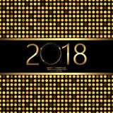 Happy New Year background with disco lights on black.. Vector Vector Illustration