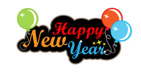 Happy new year background. Eps10 Stock Images