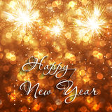 Happy New Year background. Happy New Year event celebration background vector illustration