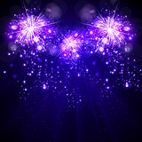 Happy New Year background fireworks. Happy New Year background, fireworks Royalty Free Stock Photo