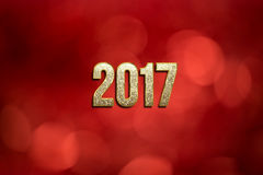 Happy New Year 2017. Royalty Free Stock Photos