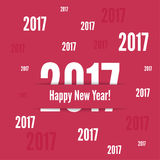 2017 Happy new year. Background. for greeting card, flyer, invitation, poster, brochure, banner calendar Christmas Meeting events Stock Photos