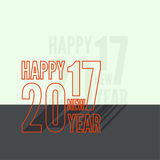 2017 Happy new year. Background. for greeting card, flyer, invitation, poster, brochure, banner calendar Christmas Meeting events Stock Photo