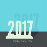 2017 Happy new year. Background. for greeting card, flyer, invitation, poster, brochure, banner calendar Christmas Meeting events Royalty Free Stock Photos