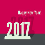 2017 Happy new year. Background. for greeting card, flyer, invitation, poster, brochure, banner calendar Christmas Meeting events Stock Image