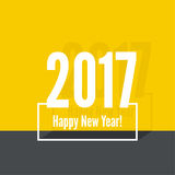 2017 Happy new year. Background. for greeting card, flyer, invitation, poster, brochure, banner calendar Christmas Meeting events Royalty Free Stock Photography