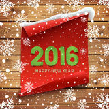 Happy New Year 2016 background. Stock Photography