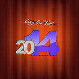 Happy new year background. New 2014 year greeting card, with space for text. Happy new year Stock Images