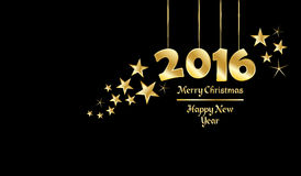 Happy New Year. Background with year 2016 greetings Royalty Free Stock Photos