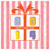 Happy new year 2014  background. Happy new year 2014 background, illustration Stock Image