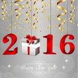 Happy New Year 2016 background Stock Photo