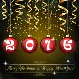 Happy New Year 2016 background Royalty Free Stock Photography
