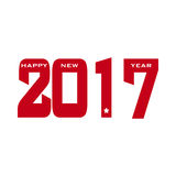 HAPPY NEW YEAR 2017 background. Royalty Free Stock Photo