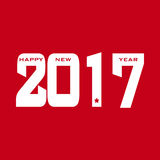 HAPPY NEW YEAR 2017 background. Royalty Free Stock Image