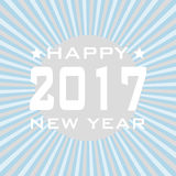 HAPPY NEW YEAR 2017 background. Stock Image
